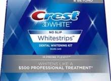 الجديدCrest 3D White Luxe Whitestrips Supreme FlexFitT