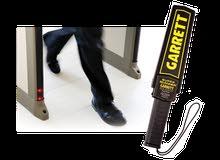 اجهزة كشف المعادن وبوابات الحماية من السرقة