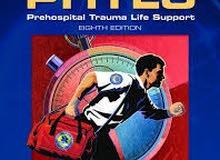 بيع كتاب طبي (PHTLS) جديد جدا