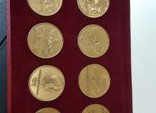 Rare Porsche calendar pronz coins