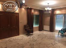 شقة ارضية فارغة للايجار في ام اذينة 215م خلف زاد الخير سوبر ديلوكس