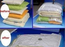 اكياس الضغط لحفظ وتخزين الملابس