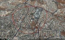 ارض في طبربور على شارعين قريبة من الاتحاد العسكري والقيادة العامة960م بسعر مناسب