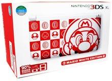 Nintendo 3DS XL Mario White Edition