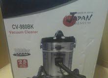 مكنسة برميل يابانى باناسونيك 2600واط لشفط المياه والاتربه حله25لتر جديده