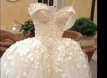 فستان ملبوسه مره واحده للبيع