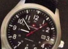 ساعة swiss army with box بالعلبة ثلاث