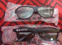 نظارات 3D الخاصه بشاشات LG