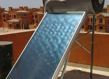سخان مياة بالطاقة الشمسية