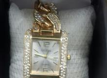 ساعة حريمي ماركة Guess مرصعة فرست هايكوبي للبيع