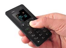 هاتف AEK M5 الصغير بحجم بطاقة الصراف الالي
