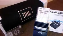 بازوكه JBL 1000 W + جي إم JVC 370  W
