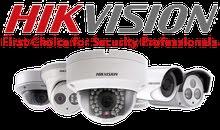4 كاميرات مع جهاز تسجيل من HIKVISION عالية الوضوح HD