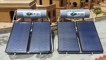 السخان الشمسى يعمل بالدائرة المغلقة