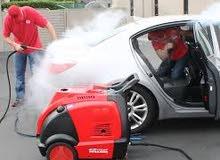 مكائن اوبتيما لغسيل السيارات بالبخار