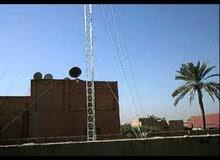 برج انتر نت 15 متر 3 سكترات واومني وغراض اخرى ب850 $