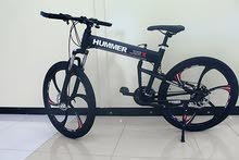"""Hummer Black 26"""" FOLDABLE BICYCLE - Alloy Wheels"""