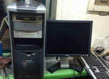 كمبيوتر كامل بشاشة ال سي دي