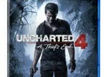 (uncharted 4) على بلايستيشن 4 للبيع
