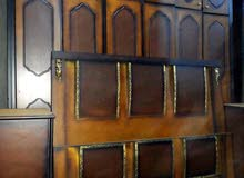 غرفة نوم ماستر طابقين خشب ﻻتي تفصيل+فرشه +مخدات عدد2