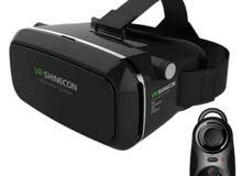 نظارة الواقع الافتراضي 3D مع ريموت بلوتوث