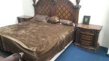 غرفة نوم شبه جديده استخدام 5 شهور فقط