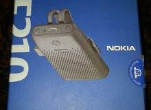 سماعة بلوتوث نوكيا الطيارة للسيارات ( Speakerphone ) نوكيا HF-210 جديدة بالكرتون