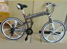 دراجة همر رائعة /المونيوم كامل / قابل للطي