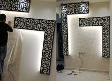 تركيب ورق جدران