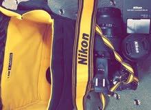 كاميرا نيكون D5300 جديده الاستخدام شهر فقط !