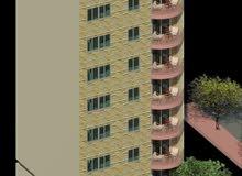 بنى سويف حي الروضة برج سكني متاح بيه شقق للبيع مباشرة منا المالك
