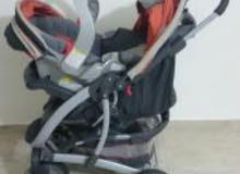 جونيورز عرباية اطفال+ كرسي سياره