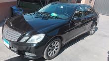 سيارة مرسيدس E250 للبيع بحالة ممتازة