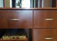 dressing table with bench. see pics