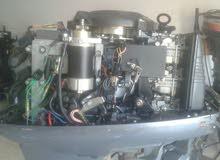 محرك40 ياماها 3بستوني شبه جديدثﻻثه ارباع