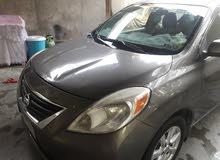 نيسان فيرسا 2012 للبيع او مراوس بسيارة تكسي