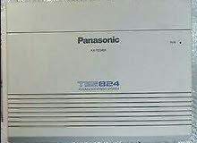 سنترال باناسونيك Kx-TES824 3 خط خارجى + 8 خط داخلى شامل رسالة الترحيب