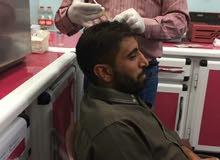 مركز محمد لحقن البلازما الدم لمنع تساقط الشعر