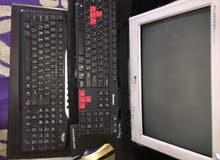 كمبيوتر مكتبي عدد (2) للبيع بيهن مجال