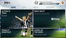 تحميل اسطورة كرة القدم فيفا 14 FIFA باتش 17 FIFA مهكرة كل شي مفتوح للاندرويد