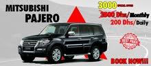 Rent Mitsubishi Pajero