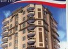 تملك شقة 100م واجهه  دقيقتان من شارع جسر السويس