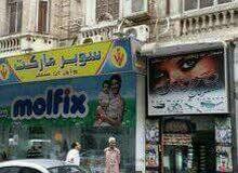 [فرصه روعه بمكان مميز محل للبيع بمصر الجديدة ثمنه واحد ونصف مليون بالديكور والتك