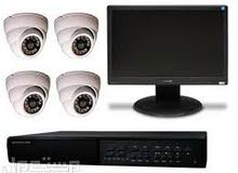 كاميرات مراقبة مع التركيب والضمان