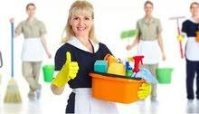 مكتب سطوع شمس متوفر عاملات نظافة
