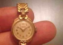 ﺳﺎﻋﺔ ALPROSA 17jewels يد حريمى ﻣﻠﻮ ﻗﺪﻳﻤﺔ ﺟﺪﺍ Rolled Gold Warrante