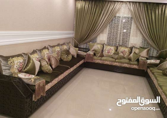 Curtains Majlis Maghrbi Sofa Set 30781573 Opensooq