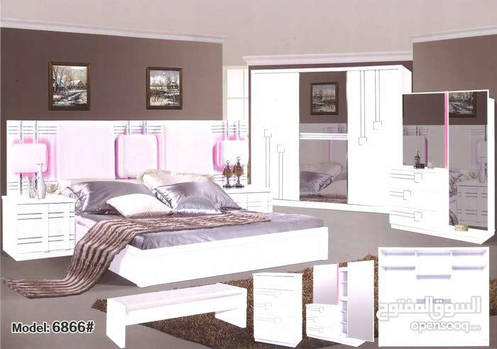 غرفة نوم جديدة بتصميم عصري و بسعر مخفض