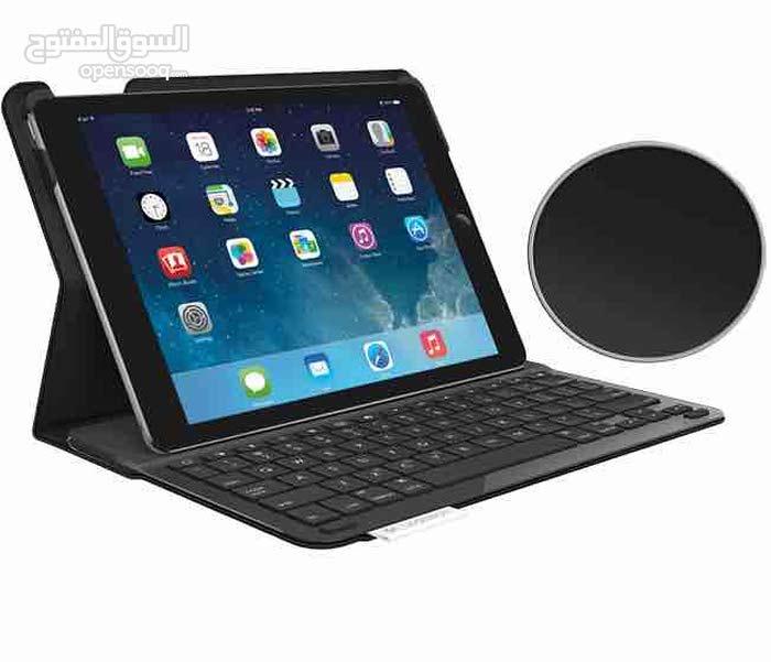 logitech keyboard ipad Air .لوجيتك كي بورد